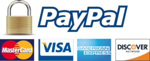We use Paypal for secure online payments